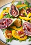 Fig & Haloumi Salad